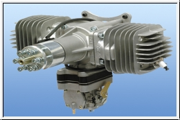 DLE 111 Power boxer engine 3D