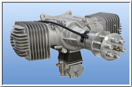 DLE 170 Power Boxer Motor 3D