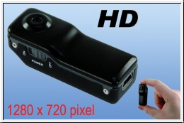 Fly Camera HD mit 1280 x 720 pixel