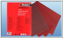 Budget sandpaper set 25 piece set