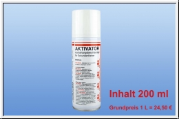 CN Sekundekleber Aktivator Spray 200 ml
