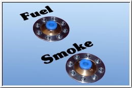 8 teiliges Aufkleber Set Fuel & Smoke