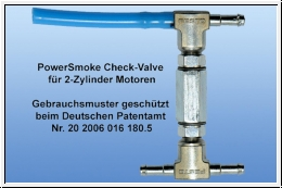 PowerSmoke CuttOff Valve for 2-cyl. engines