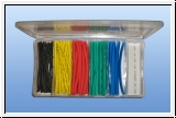 colored shrink tube assortment 100 pieces