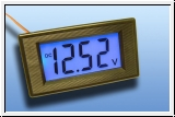 Digital LCD - Display PM 435 8V - 12V lighting including Blue