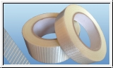 Glass fiber reinforced hinge tape 25mm x 50m / 50mm x 50m
