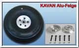 Kavan aluminum rim for tire valve 100-150mm