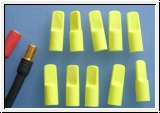 Protective cap for 5,5mm - 6mm gold contact plug 10 pieces