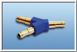Y-tube connector size