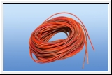 5 m silicone power cable 3-core twisted 0.34 mm ²