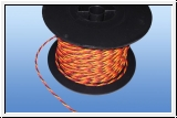 10 m soft PVC Power Cable 3-core twisted 0.34 mm ²