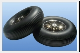 1 X pair of wheels XL <br> ø 175 mm - with ball bearings