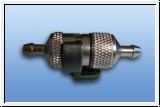 Sintered aluminum anodized fuel filter