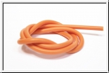 Silicone hose orange 1 meter