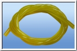 1m  fuel hose yellow - transparent 3 mm