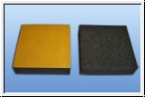 Self-adhesive foam block 80 x 80 x 20 mm