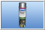 Spray brake cleaner to degrease