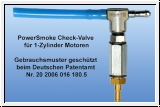 PowerSmoke Check-Valve for single-cylinder engines