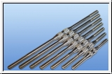 Aluminum linkage rod M3 with R & L thread of length 40-100mm